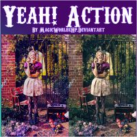 Yeah Action by MagicWorldxHp