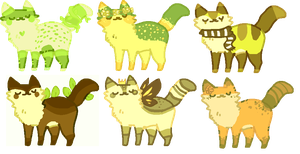 forest kitty adopts! OPEN
