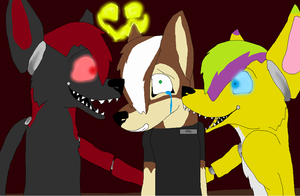 Five Nights at Montiis by AlphaWolfDog