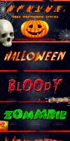 Free 8 Halloween PS Styles by Dabbexsahi by dabbex30