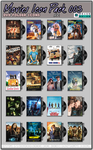 Movies DVD Folder Icons Pack 003 by Omegas82128