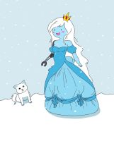 Fionna the Ice Princess (with mechanical arm) by MarylandLovely