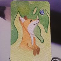 Fanciful Fox by Carrie-AnneSevenfold