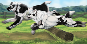 HONOR ON YOU, HONOR ON YOUR COW by Umbrafen