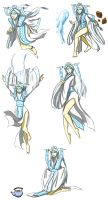 Raava full bodied sketches by mizzizabellaSMS