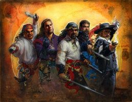 Pirates by TereseNielsen