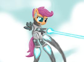 Aerial Attack by ponyus94