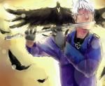 Prussia playing the transversal flute by ixpipoca
