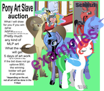 Art Slave Auction (Closed) Auto buy by Danie-me