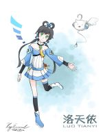 LUO TIANYI by oversoul4