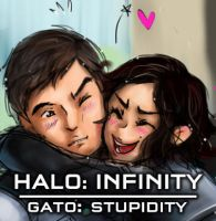 Halo: Gato stupidity by LadyCat17
