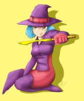Seriously Witchy BG by PMDallasArt