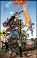 Tank Girl by PaulHanley