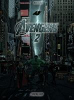 The Avengers 2 - Theatrical Poster by Delorean7