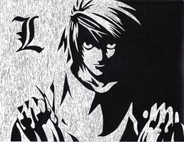 L -Death Note by prussia-awsome