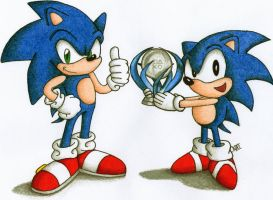 Sonic Platinum by android17lover