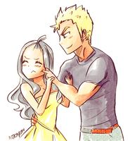 Laxus Stahp by astrayeah