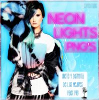 NEON LIGHTS PNG'S by SoffMalik