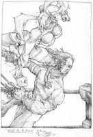 street fighter pencils by nickybeats