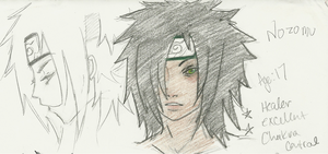 Green-eyed Uchiha by yumyumstrawberries