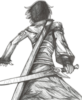 Action Kirito by PrennCooder