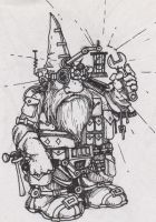 Gnomish Tinkerer II by ANDYLYONS