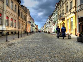 Old Town Alley-Plock by HeretyczkaA