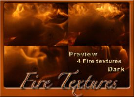 4 Fire textures Dark by Globaludodesign