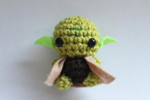 Mini Yoda by craftycalamari