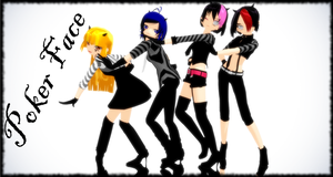 [MMD] Poker Face by Vocaloidfan33