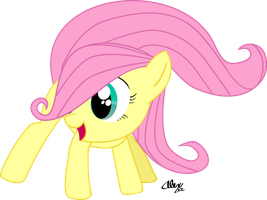 Fluttershy Filly by Alaxandir