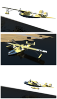 1943 N-1 Naboo Starfighter by Pixel-pencil