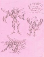 A Very Whirl Sketch Dump by Magnumformer