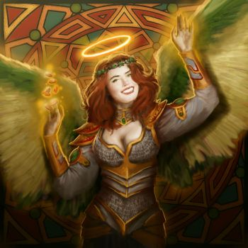 DC: Angel of Luck by GraphicGeek