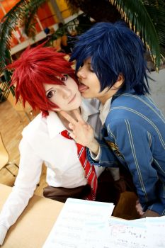 UtaPri: Tokiya and Otoya 3 by AgitoAkitoWanijima