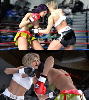 Guadalupe vs Marilyn 23 by bx2000b