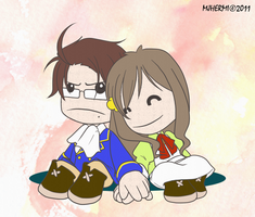 APH - Sack Couple by chaneljay