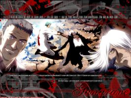gungrave -- brothers. by devil-junk
