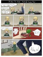 What handmouths are good for by Utagoe