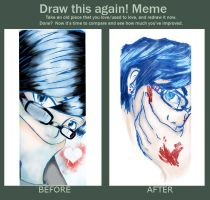 Before and After Meme :D by To-Ka-Ro