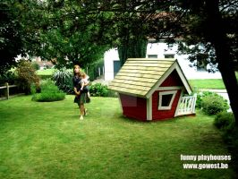 funny playhouses by frunklo