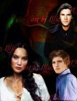 Hunger Games Trio by Liliah