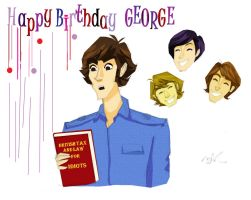 Happy Birthday George! by Orchideacae