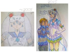 redrawing. Very old picture. by KoTana-Poltergeist