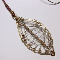 Leaf Pendant by gosai