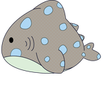 Cute Whale Shark - Transparent by CatastrophicCupcakes