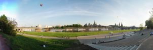 : Panorama - Dresden on Elbe : by skymax2k