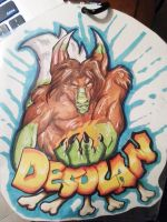 My Desolan badge by cococream45
