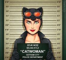 Gotham City Mugshots - Catwoman by Costalonga