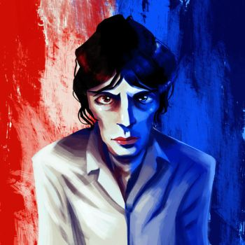 Richard Ashcroft by Clotaire